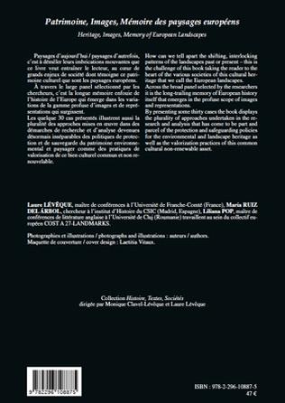 4eme Patrimoine, Images, Mémoire des paysages européens