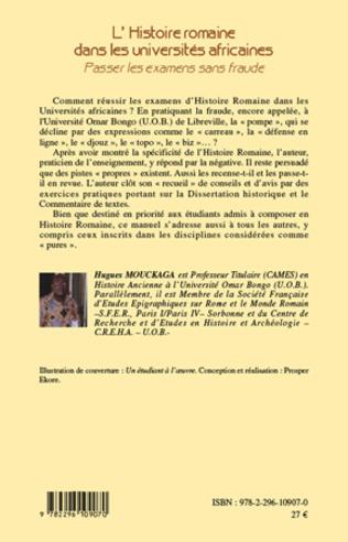 4eme L'histoire romaine dans les universités africaines