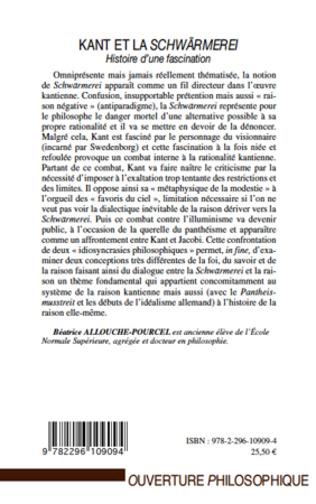 4eme Kant et la Schwärmerei