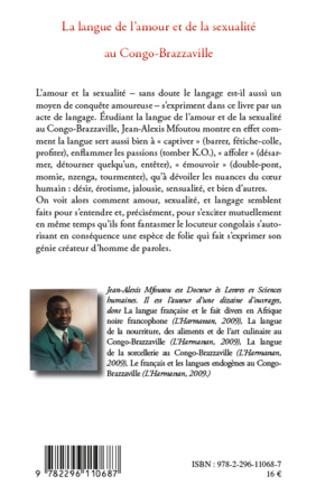 4eme La langue de l'amour et de la sexualité au Congo-Brazzaville