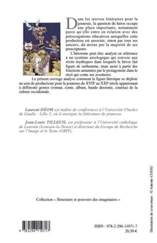 4eme Le Héros dans les productions littéraires pour la jeunesse