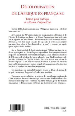 4eme Décolonisation de l'Afrique ex-française