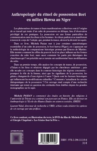 4eme Anthropologie du rituel de possession Bori en milieu Hawsa au Niger