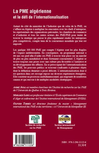 4eme La PME algérienne et le défi de l'internationalisation