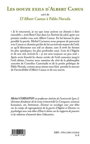 4eme Les douze exils d'Albert Camus