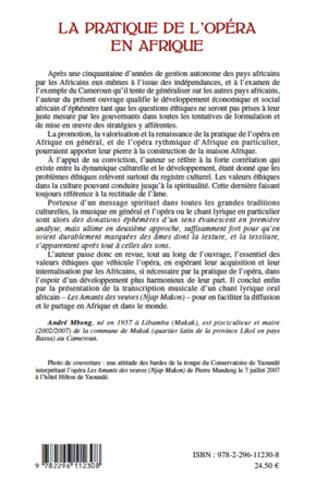 4eme La pratique de l'opéra en Afrique