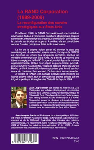 4eme La RAND Corporation (1989-2009)