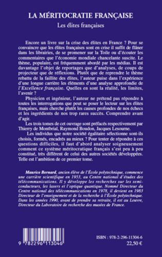 4eme La méritocratie française (Tome I)