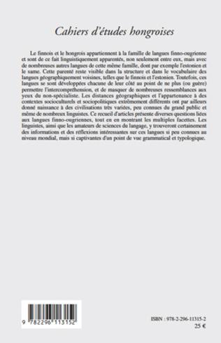 4eme Langues finno-ougriennes : aspects grammaticaux et typologiques