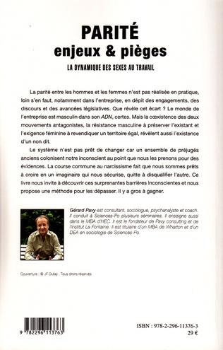 4eme La parité : enjeux et pièges