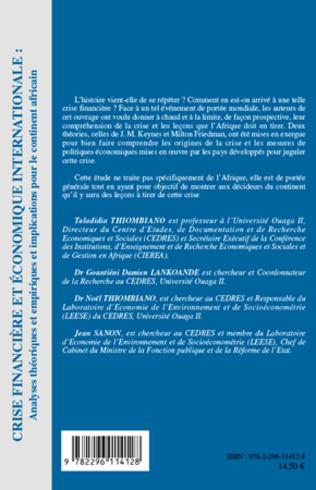 4eme Crise financière et économique internationale :