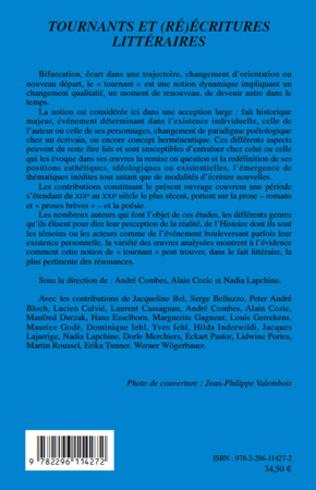 4eme Tournants et (ré)écritures littéraires