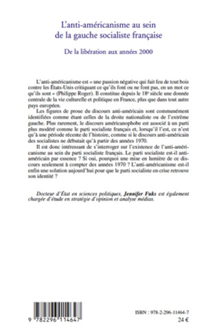 4eme L'anti-américanisme au sein de la gauche socialiste française