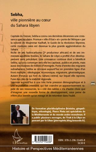 4eme Sebha, ville pionnière au coeur du Sahara libyen