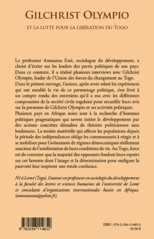 4eme Gilchrist Olympio et la lutte pour la libération du Togo