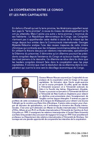 4eme La coopération entre le Congo et les pays capitalistes
