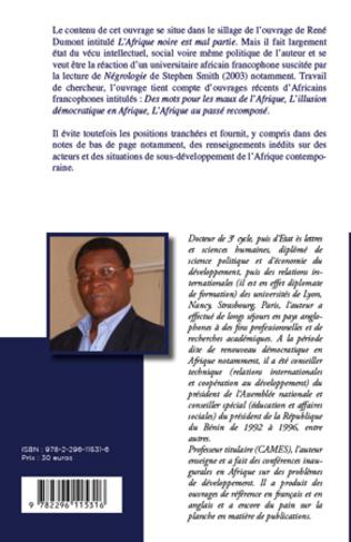 4eme Et pourquoi l'Afrique refuserait-elle le développement ?