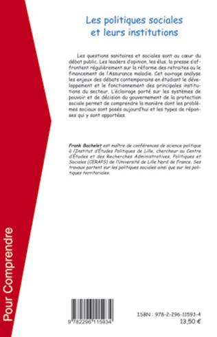 4eme Les politiques sociales et leurs institutions