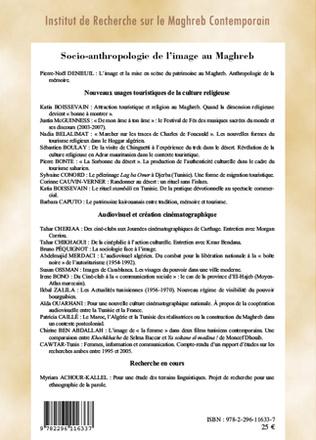 4eme Socio-anthropologie de l'image au Maghreb