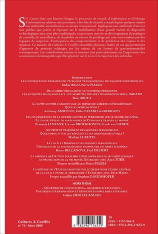 4eme Fichage et listing