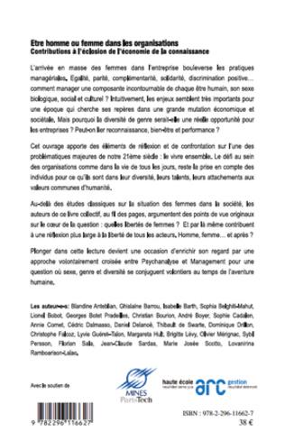 4eme LE RÔLE DES FEMMES GESTIONNAIRES DANS L'ENTREPRISE MONDIALISÉE : DIMENSIONS CULTURELLES, ÉCONOMIQUES ET SOCIÉTALES