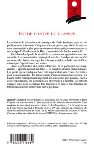 4eme Entre castes et classes