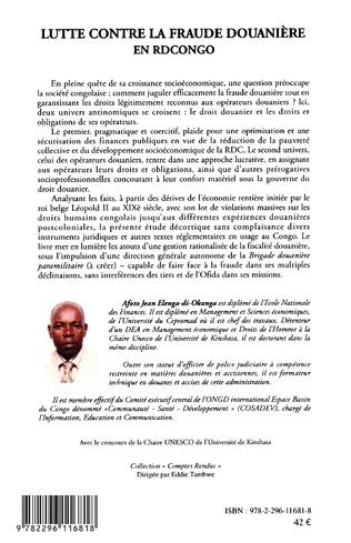 4eme Lutte contre la fraude douanière en RD Congo