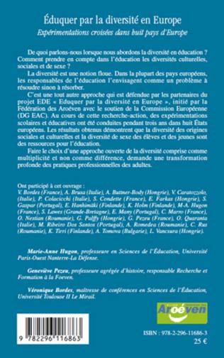 4eme Eduquer par la diversité en Europe