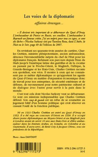 4eme Les voies de la diplomatie.