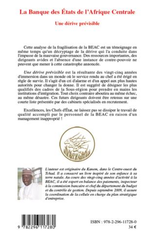 4eme La Banque des Etats de l'Afrique Centrale