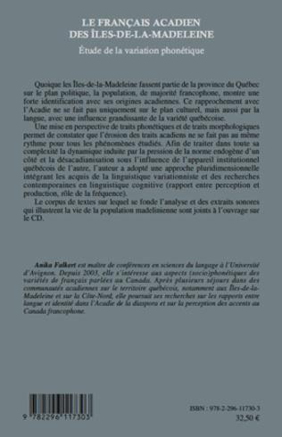 4eme Les Français acadien des Iles-de-la-Madeleine