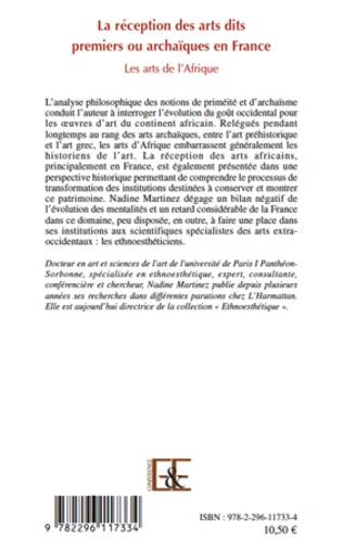 4eme La réception des arts dits premiers ou archaïques en France