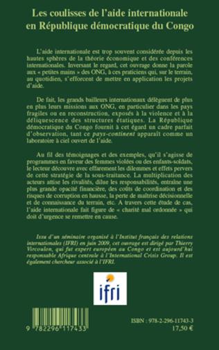 4eme Les coulisses de l'aide internationale en République démocratique du Congo