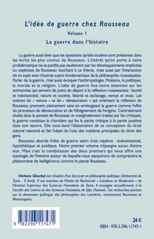 4eme L'idée de guerre chez Rousseau Volume 1