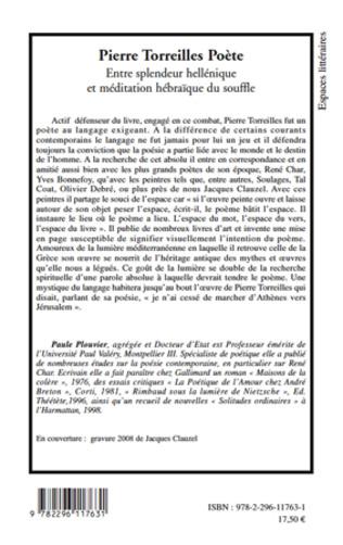 4eme Pierre Torreilles Poète