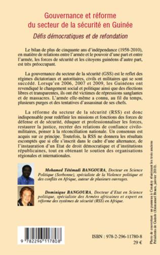 4eme Gouvernance et réforme du secteur de la sécurité en Guinée