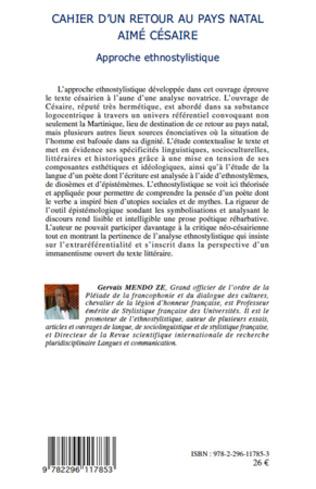 4eme Cahier d'un retour au pays natal Aimé Césaire