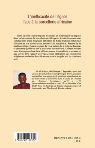 4eme L'inefficacité de l'église face à la sorcellerie africaine