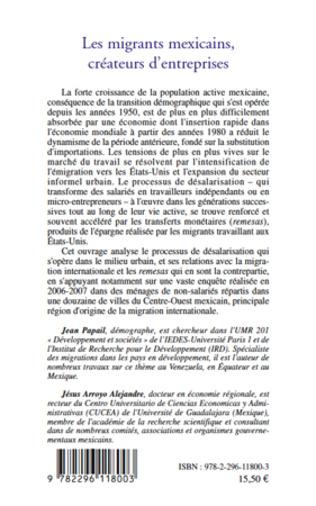 4eme Les migrants mexicains, créateurs d'entreprises