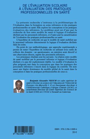 4eme De l'évaluation scolaire à l'évaluation des pratiques professionnelles en santé