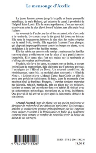 4eme Le mensonge d'Axelle