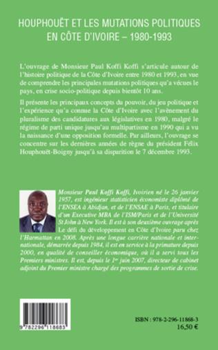 4eme Houphouët et les mutations politiques en Côte d'Ivoire
