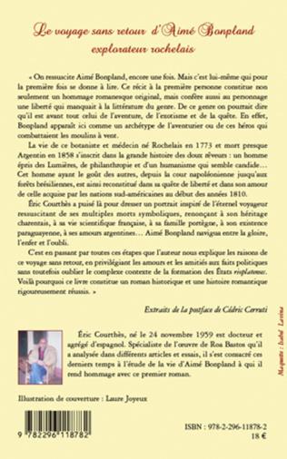 4eme Le voyage sans retour d'Aimé Bonpland, explorateur rochelais