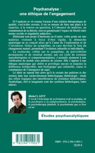4eme Psychanalyse : une éthique de l'engagement
