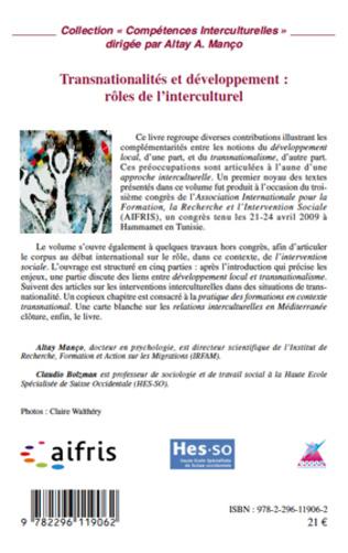 4eme Transnationalités et développement : rôles de l'interculturel