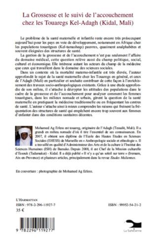 4eme La grossesse et le suivi de l'accouchement chez les Touaregs Kel-Adagh (Kidal, Mali)