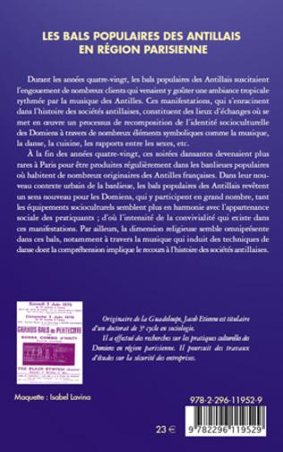 4eme Les bals populaires des antillais en région parisienne