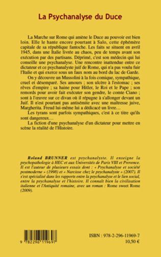 4eme La Psychanalyse du Duce
