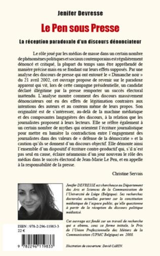 4eme Le Pen sous presse
