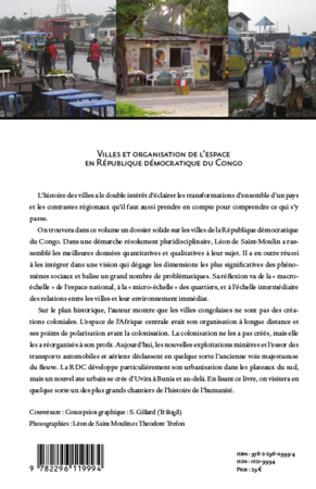 4eme Villes et organisation de l'espace en République Démocratique du Congo
